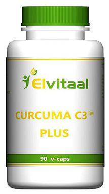 Curcuma C3 Plus Elvitaal 90 caps