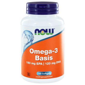 Omega 3 basis 1000 mg NOW