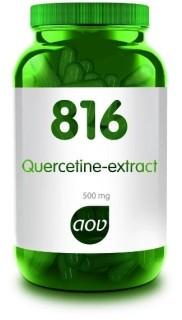 Quercetine-extract 816 AOV 60 capsules