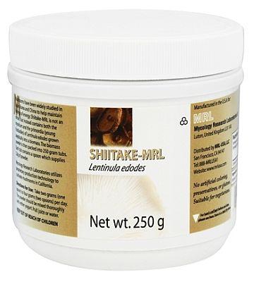 Shiitake MRL 250 gram poeder