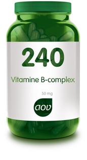 Vitamine B complex 50 mg 240 AOV