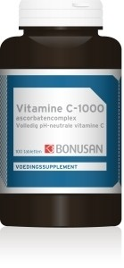 Vitamine C 1000 mg ascorbaten van Bonusan