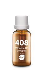 Vitamine D3 druppels 10 mcg 408 AOV
