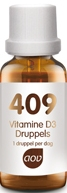 Vitamine D3 druppels 25 mcg 409 AOV