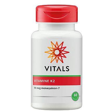 Vitamine K2 90 mcg Vitals 60 capsules