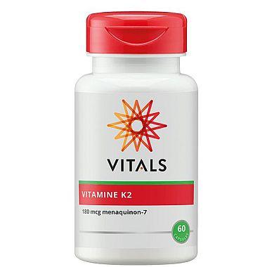 Vitamine K2 180 mcg Vitals 60 capsules