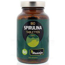 Spirulina Bio 400 mg 300 tabletten van Hanoju