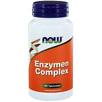Enzymen Complex Now 90 tabletten