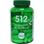 Magnesium AC & Citraat 150 mg 512 van AOV