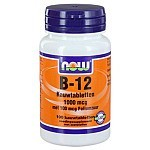 Vitamine B12 1000 mcg kauwtabletten NOW